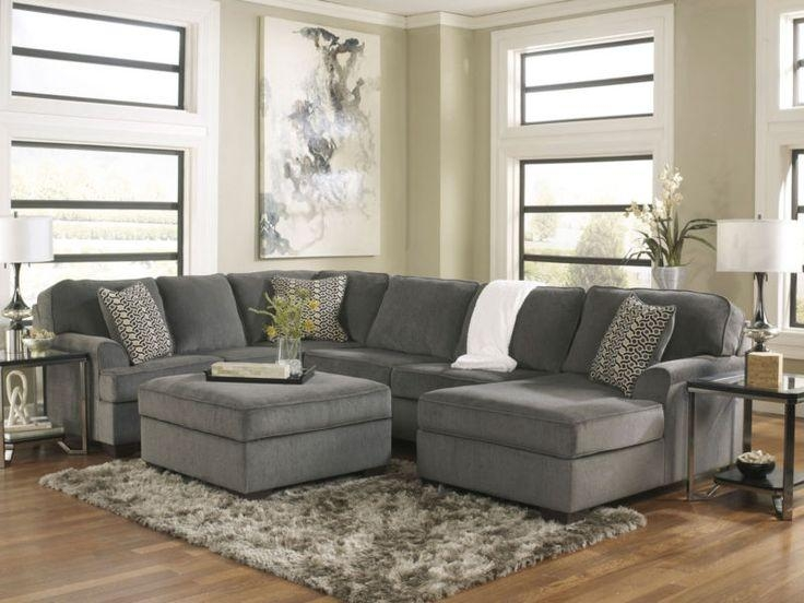76 Best Sofas/chairs Images On Pinterest | Living Room Ideas Intended For Gray Sofas (Image 5 of 20)