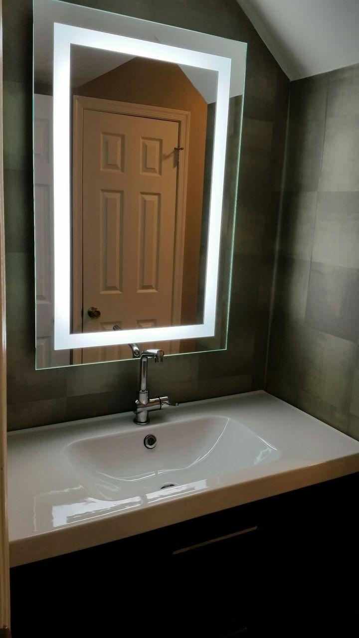 8 Best Lighted Image – Led Bordered Illuminated Mirror – Large Intended For Large Illuminated Mirror (Photo 9 of 20)