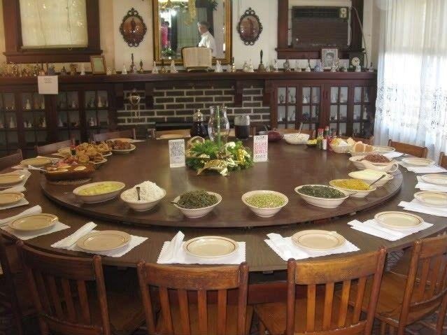 8 Best Round Tables Images On Pinterest | Round Tables, Large In Large Circular Dining Tables (Image 1 of 20)