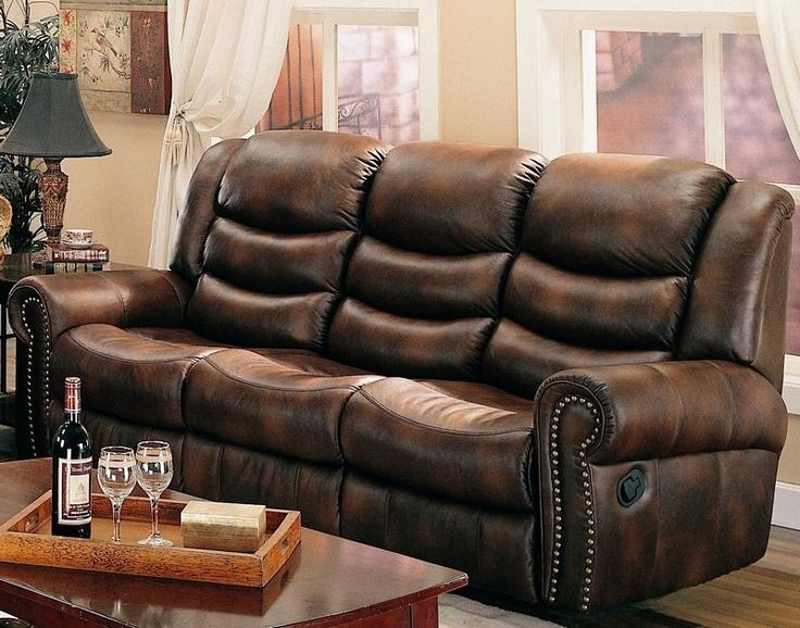 8 Best Sofas Images On Pinterest | Nail Head, Living Room Sofa And Inside Brown Leather Sofas With Nailhead Trim (Image 3 of 20)