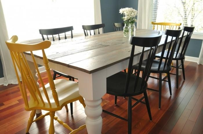 8 Diy Dining Table Ideas – Diy For Life Pertaining To 8 Dining Tables (Photo 2 of 20)