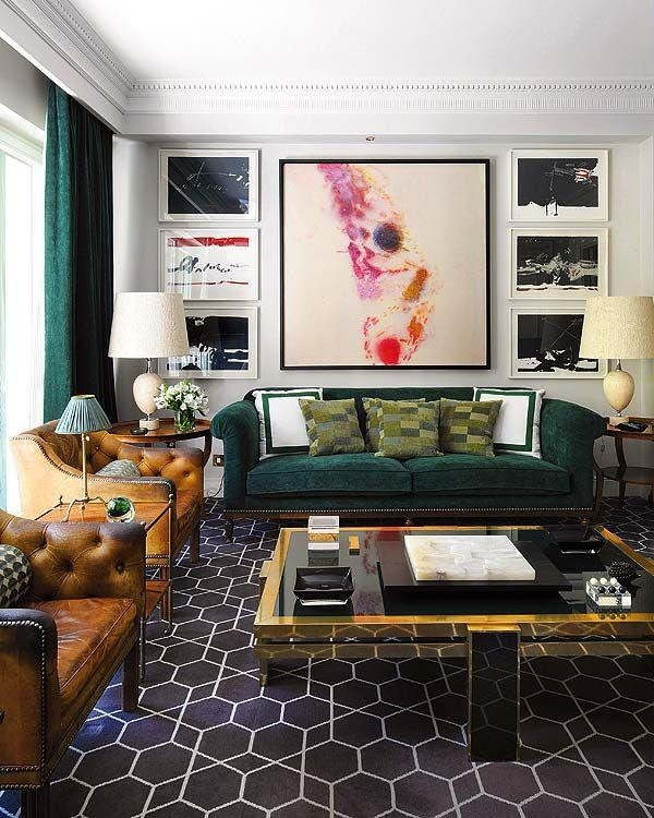 Living Room Designs Green Sofa Green Sofa Living Room Design Ideas Part 59