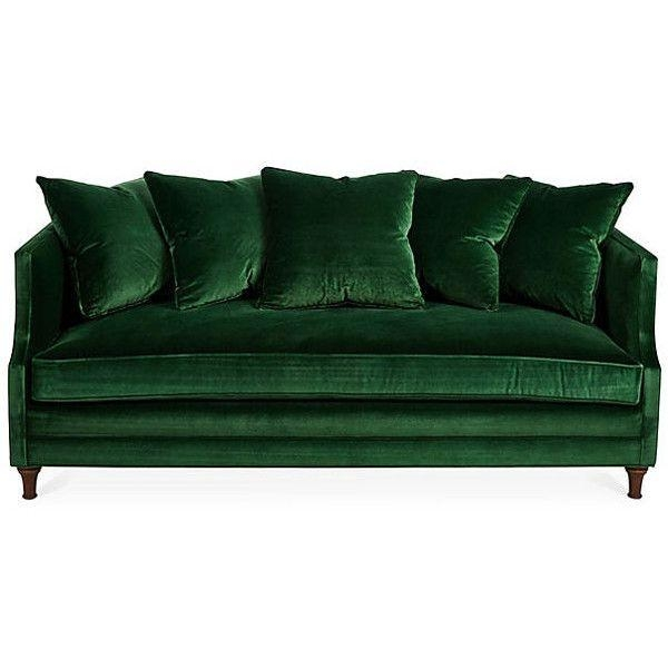 805 Best Great Green Sofa Images On Pinterest | Green Velvet Sofa Throughout Green Sofas (Image 5 of 20)