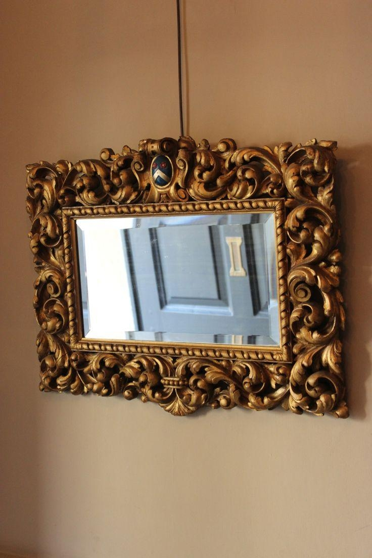 84 Best Mirrors Images On Pinterest | Antique Mirrors, 19Th With Regard To Small Bevelled Mirror (View 12 of 20)