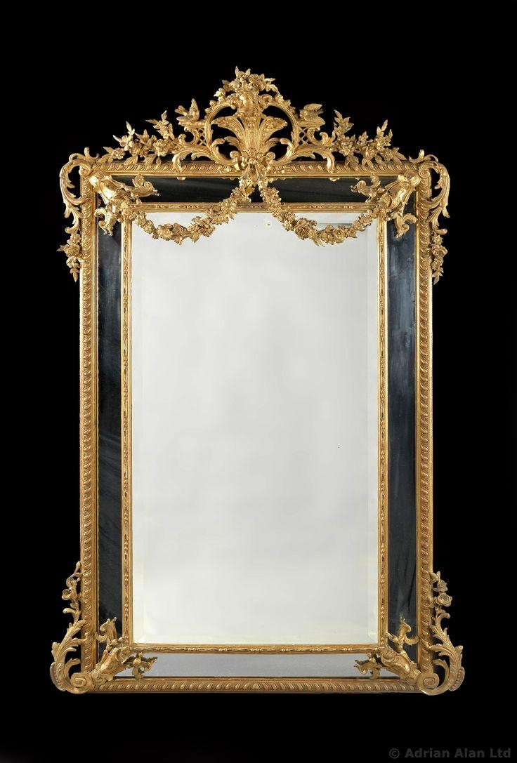 856 Best Mirrors & Frames Images On Pinterest | Mirror Mirror Throughout Reproduction Antique Mirrors For Sale (Image 13 of 20)