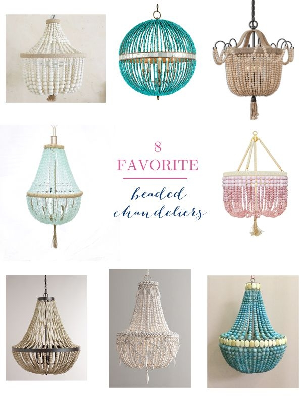 86 Best Make Chandeliers Images On Pinterest Chandeliers Beaded Inside Turquoise Beads Sixlight Chandeliers (Image 6 of 25)