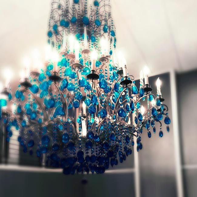 87 Best Chandeliers Images On Pinterest With Turquoise Blue Chandeliers (Image 4 of 25)
