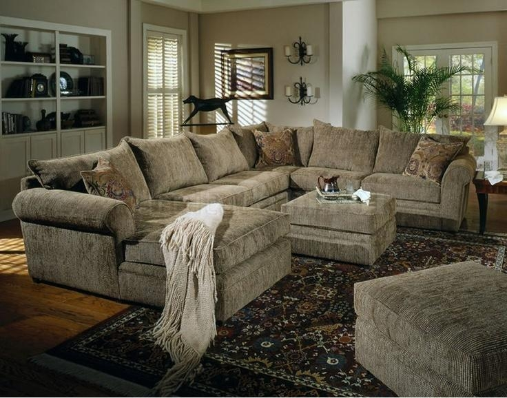 9 Best Home Theater Images On Pinterest | For The Home, Living For Chenille Sectional Sofas With Chaise (Image 4 of 20)