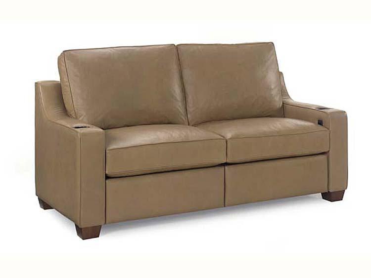 917 00/75Rec Rhett Reclining Short Sofa : Leathercraft Furniture For Short Sofas (Photo 1 of 20)