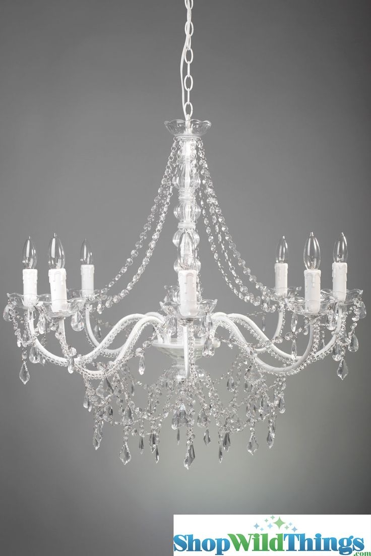 92 Best Home Lights Images On Pinterest Within White And Crystal Chandeliers (Image 4 of 25)