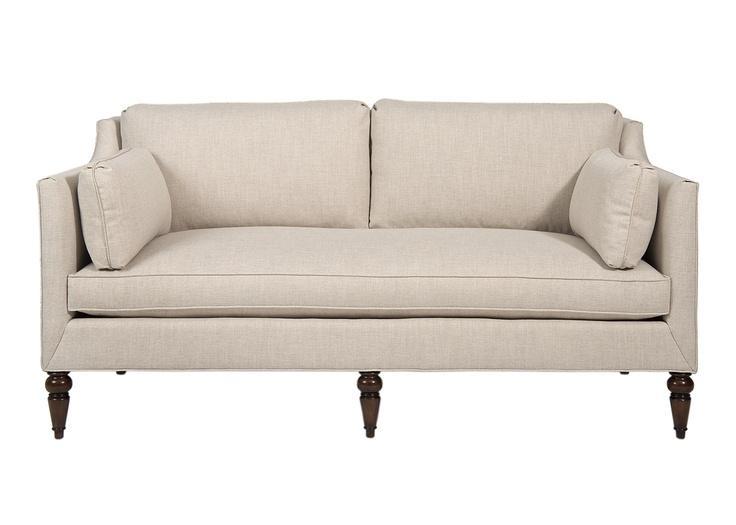 95 Best Sofas Images On Pinterest | Sofas, Loveseats And Upholstery Regarding Short Sofas (Photo 9 of 20)