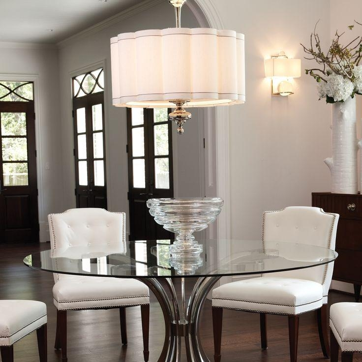 96 Best Lighting For Round Dining Table Images On Pinterest Intended For Lights Over Dining Tables (Image 3 of 20)
