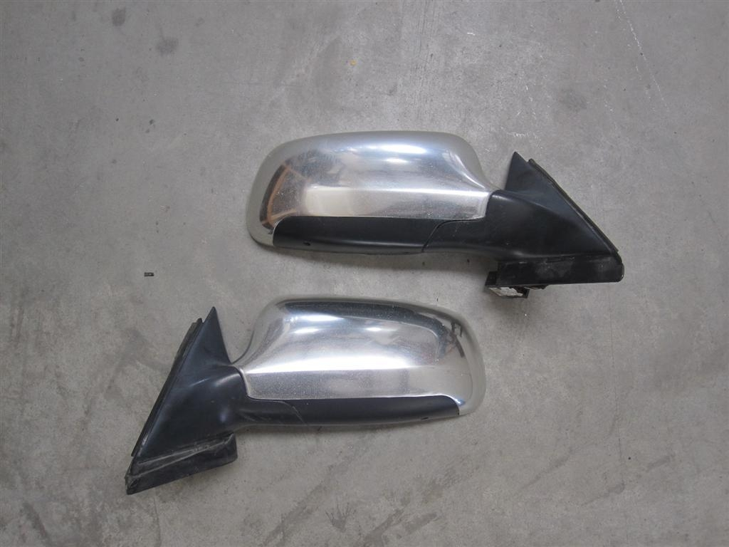 97 02 Audi S4 A4 Oem Chrome Side Mirrors – Real Aluminium Inside Chrome Mirrors (Photo 14 of 20)