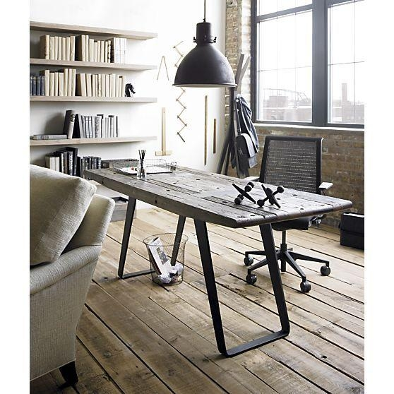 97 Best Reclaimed Wood Desk Images On Pinterest | Workshop, Home Intended For Phoenix Dining Tables (Image 2 of 20)