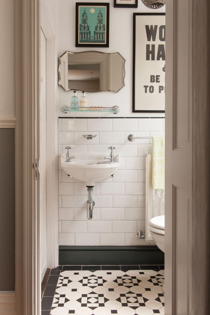 99 Best Pretty Powder Rooms Images On Pinterest | Bathroom Ideas Throughout Retro Bathroom Mirror (Image 5 of 20)