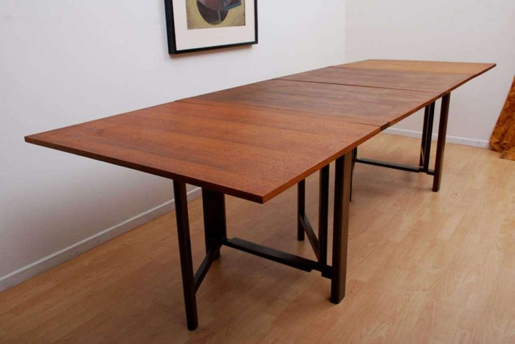 A Complete Review Of Foldable Dining Tables — Smith Design In Wood Folding Dining Tables (Image 2 of 20)