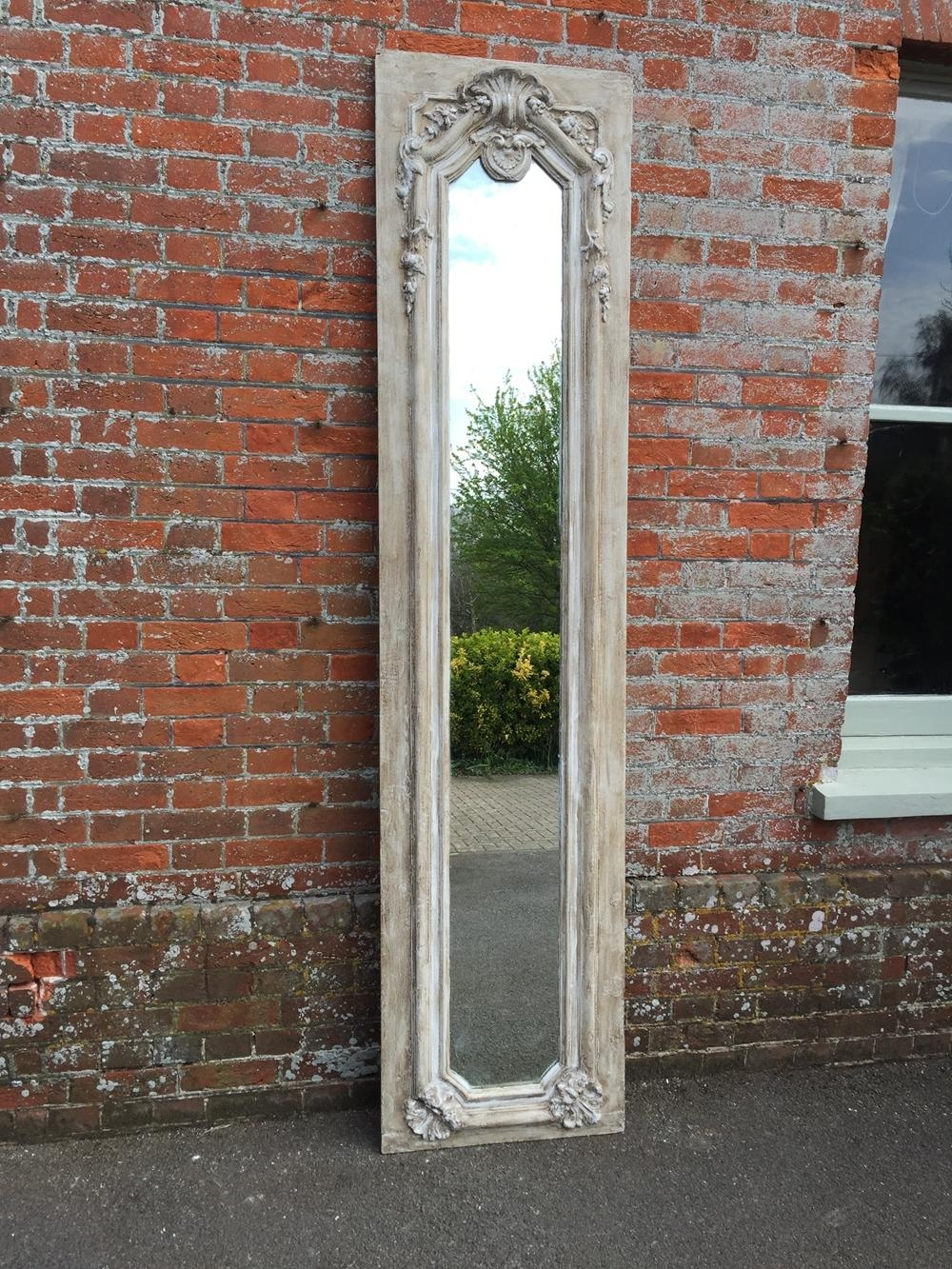 A Fabulous Highly Unusual Extra Large Antique 19Th Century French Regarding Unusual Large Mirrors (Image 1 of 20)
