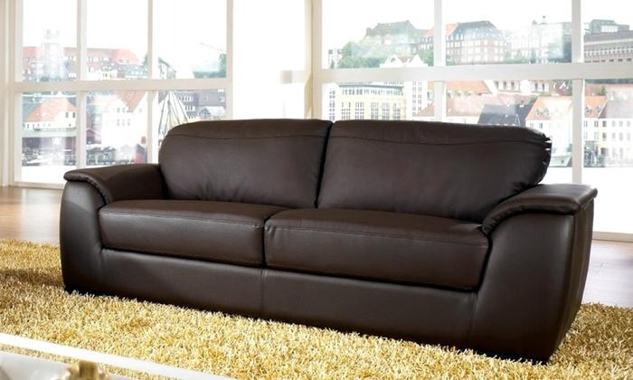 Abbyson Living Leather Sofas | Groupon Goods With Regard To Abbyson Sofas (Image 10 of 20)