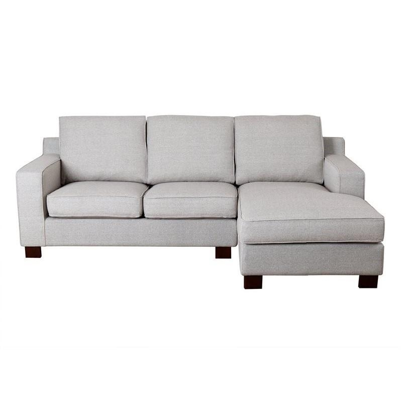 Abbyson Living Regina Fabric Sectional Sofa In Gray – Rl 1321 Gry For Abbyson Living Sectional Sofas (Image 9 of 20)