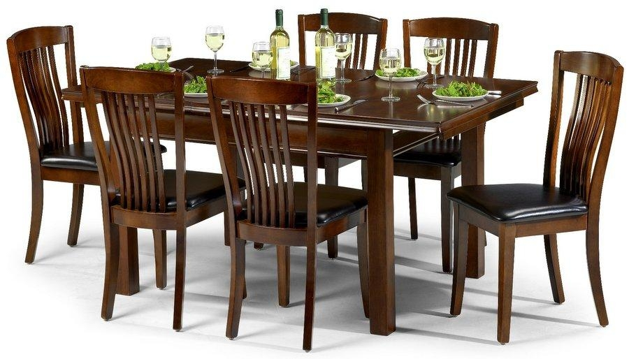 Abdabs Furniture – Canterbury Mahogany Dining Table & Six Chairs Inside Dining Tables And Six Chairs (Image 1 of 20)
