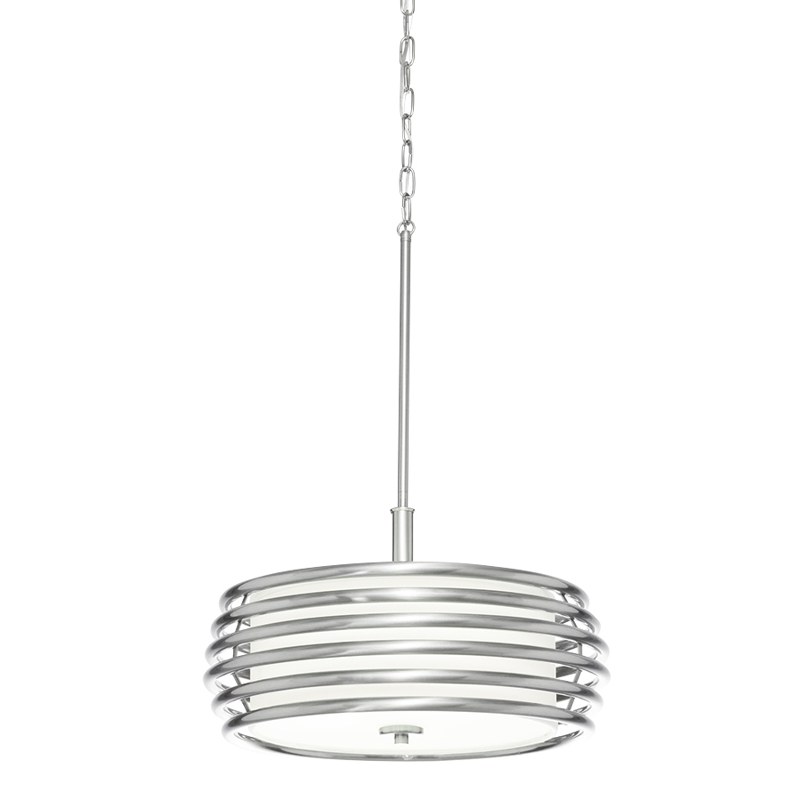 Accessories Drum Pendants Lights Fabric Drum Pendant Lights Drum Within Fabric Drum Shade Chandeliers (Image 3 of 25)
