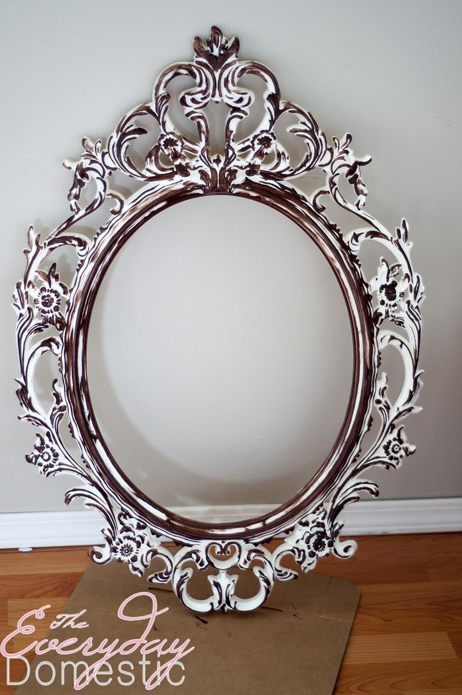 Accessories: Extraordinary Accessories For Girl Bedroom Wall With Vintage Ornate Mirror (Image 2 of 20)