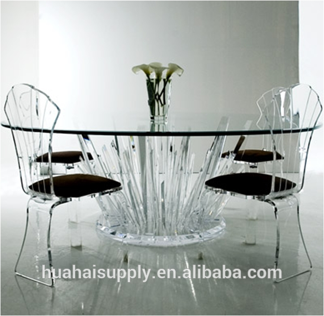 Acrylic Dining Table And Chairs, Acrylic Dining Table And Chairs Pertaining To Crystal Dining Tables (View 8 of 20)