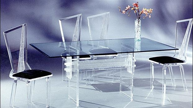 Acrylic Dining Table (Image 13 of 20)