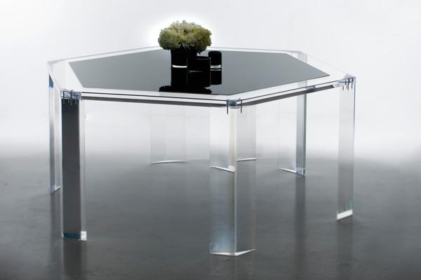 Acrylic Dining Table For Acrylic Dining Tables (Image 7 of 20)