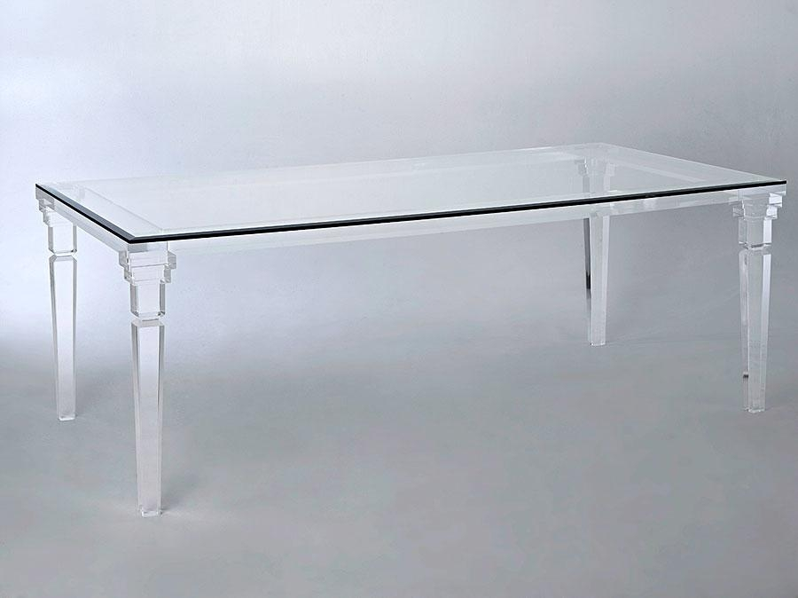 Acrylic Dining Table – Muniz Within Acrylic Dining Tables (Image 5 of 20)