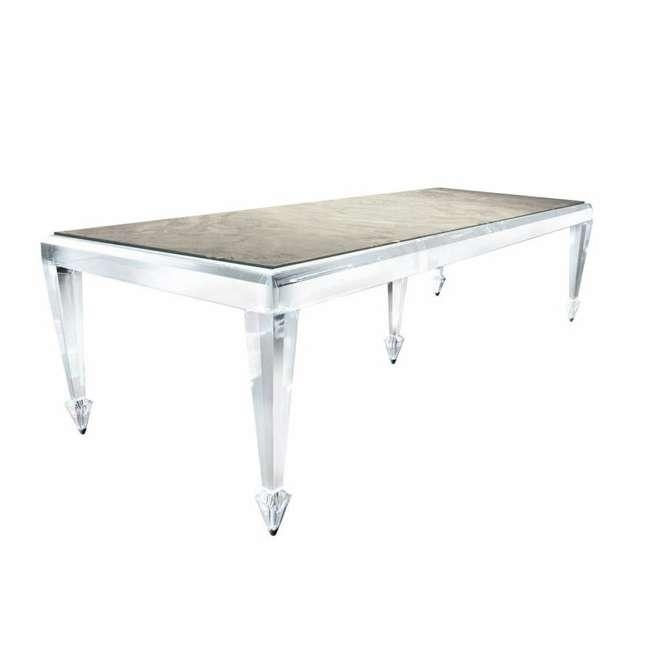Acrylic Dining Table (Image 14 of 20)