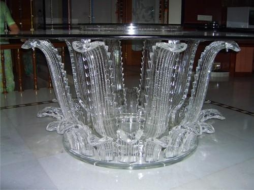 Acrylic Dining Tables – Acrylic Rortating Display Unit Within Round Acrylic Dining Tables (Image 9 of 20)