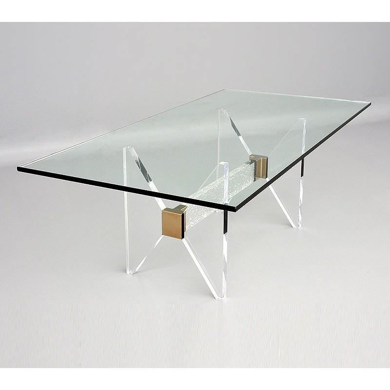 Acrylic Dining Tablesmichael O – Michaels Acrylic Furniture With Regard To Acrylic Dining Tables (Image 17 of 20)