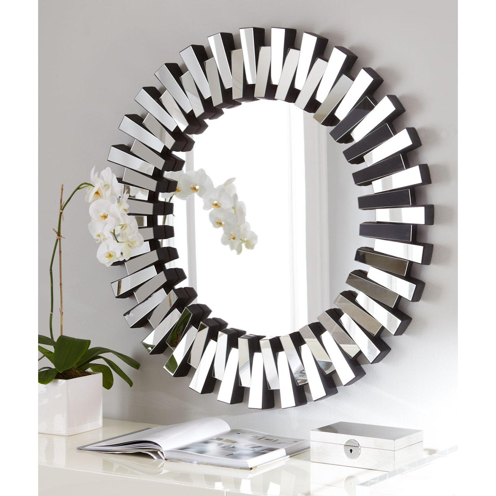 Afina Modern Luxe Round Wall Mirror – 36 In (View 16 of 20)