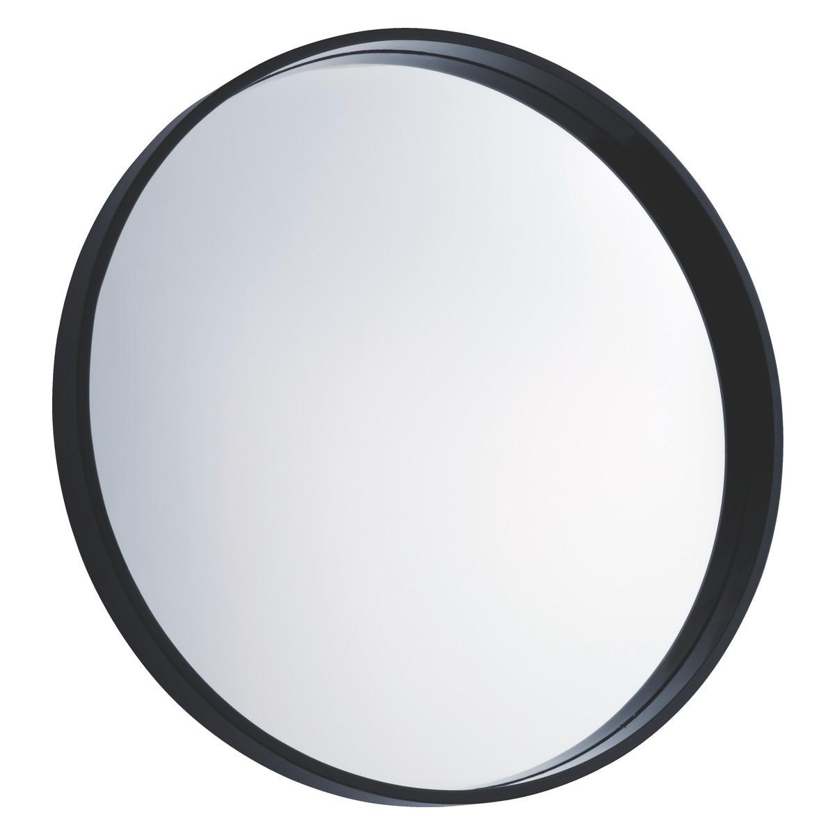 Aimee Black Round Wall Mirror D65Cm | Buy Now At Habitat Uk With Regard To Round Black Mirror (View 2 of 20)