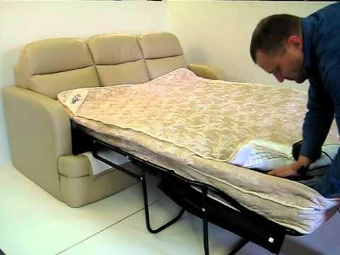 Air Dream Sleeper Sofa Is The Next Generation In Comfort! – Youtube Intended For Sofa Beds With Mattress Support (Image 5 of 20)