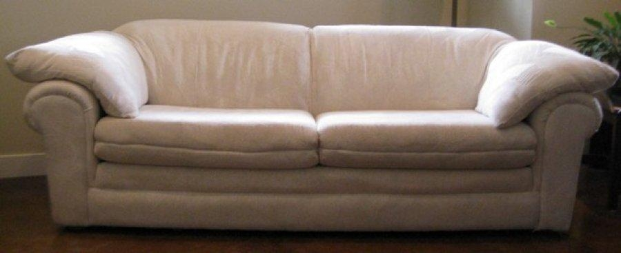 Alan White Sofa And Alan White Beige Cotton,textured Fabric, Deep Regarding Alan White Sofas (Image 12 of 20)