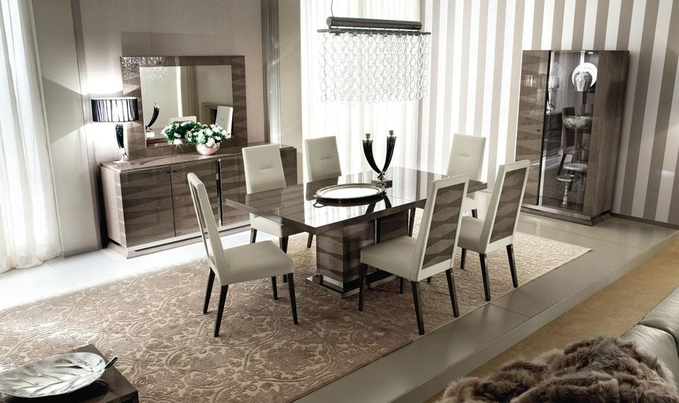 Alf Monaco Dining Room | Alf Italia Monaco Dining Room | Zilli Pertaining To Monaco Dining Tables (Image 3 of 20)