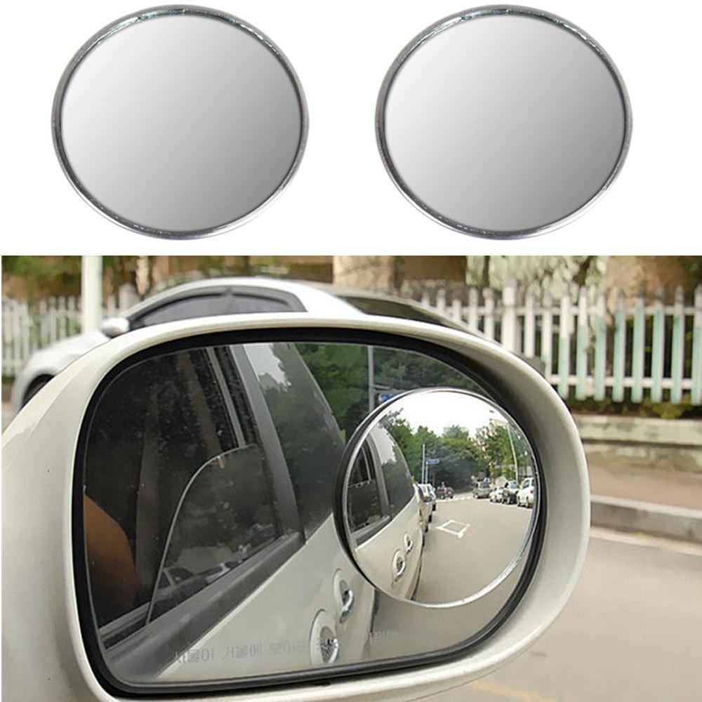 Aliexpress : Buy 2 X 3 Inch Blind Spot Rear View Mirrors Pertaining To Convex Mirror Buy (Image 1 of 20)