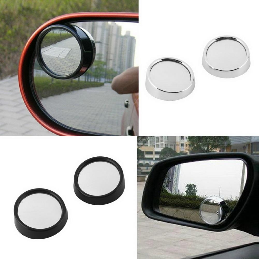 Aliexpress : Buy 2Pcs Auto Side 360 Wide Angle Round Convex In Small Round Convex Mirror (View 2 of 20)