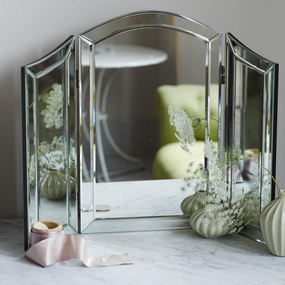 Alina Dressing Table Mirror | Mirrors | Graham And Green For Dressing Table Mirrors (Image 1 of 20)