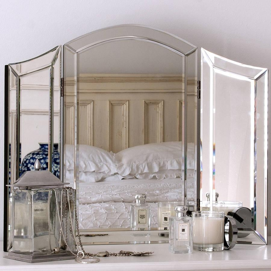 All Glass Dressing Table Mirrordecorative Mirrors Online With Regard To Dressing Table Mirror (Image 3 of 20)