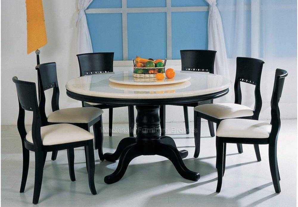 Alluring Round 6 Seater Dining Table Fresh Design 6 Seat Dining Inside 6 Seat Round Dining Tables (Image 4 of 20)