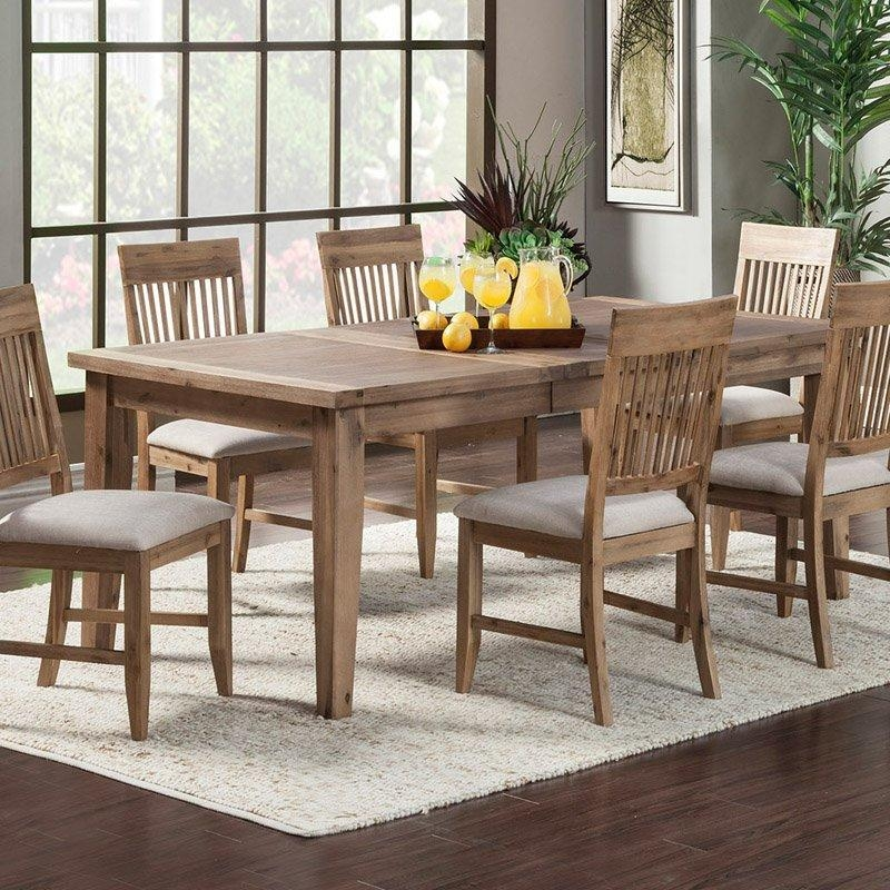 Alpine Furniture Aspen Extension Dining Table – Iron Brush Antique Within Aspen Dining Tables (Image 3 of 20)