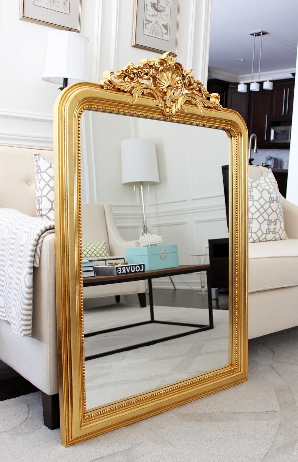 Am Dolce Vita: Solid Gold Intended For Reproduction Antique Mirrors (Image 8 of 20)