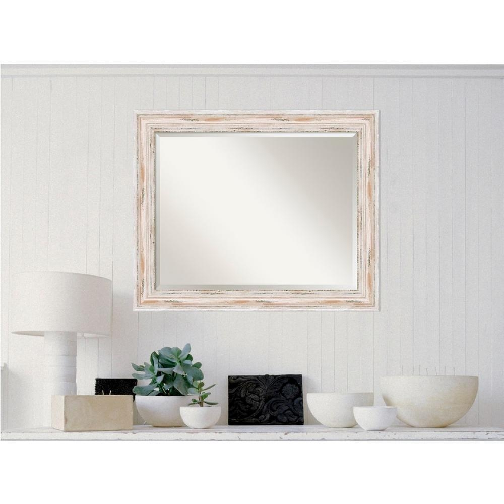 Featured Image of Distressed Framed Mirror
