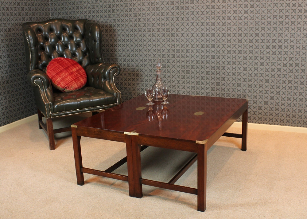 Amazing Best Campaign Coffee Tables Throughout Campaign Coffee Table (Image 1 of 50)