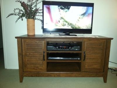 Amazing Best Cherry TV Stands With Regard To Tv Stand Entertainment Center Media Console Furniture Storage Wood (Image 1 of 50)