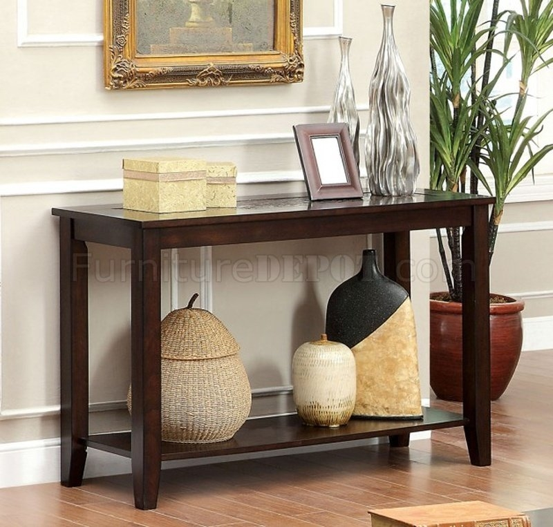 Amazing Best Cherry Wood Coffee Table Sets Pertaining To Townsend Iii Coffee Table 2 End Tables In Dark Cherry (View 35 of 50)