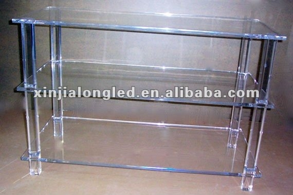 Amazing Best Clear Acrylic TV Stands With Regard To Clear Plastic Tv Stand Clear Plastic Tv Stand Suppliers And (Image 1 of 50)